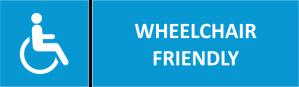 wheel-chair friendly